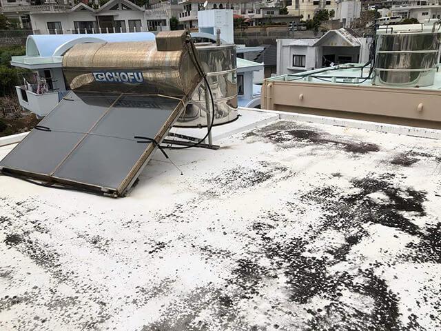 屋上 Before写真