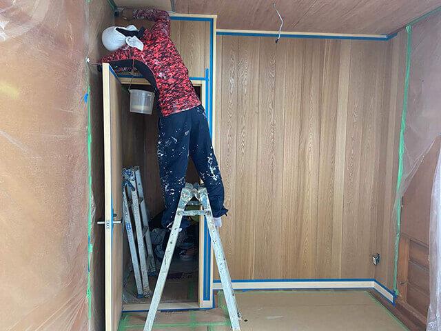 建具枠塗装