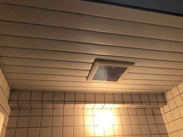 浴室天井 Before写真
