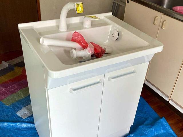 洗面化粧台設置