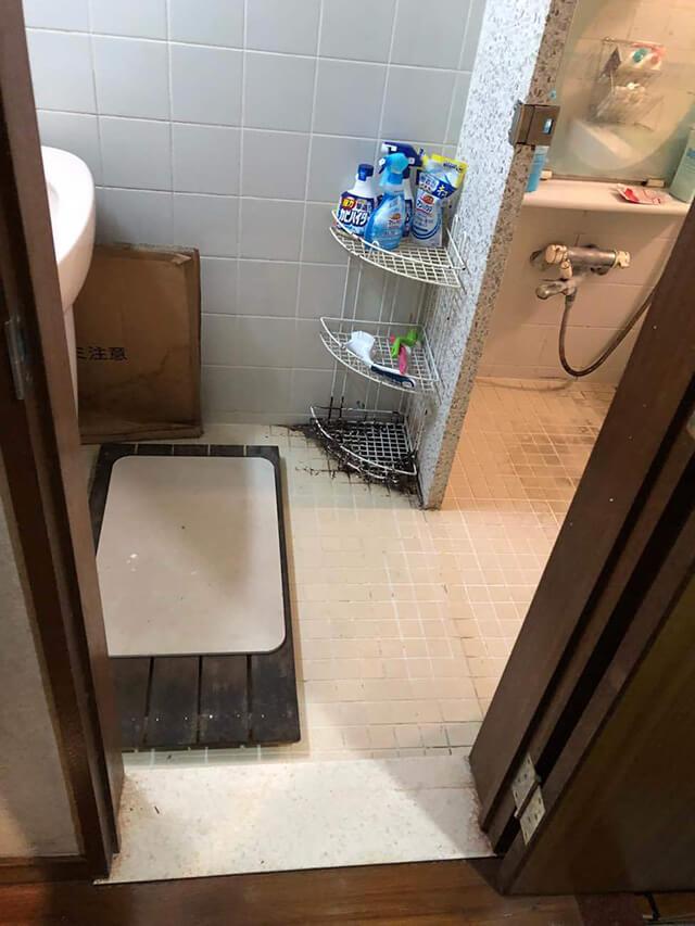 洗面所 Before写真